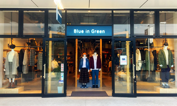 Blue in Green 広島店